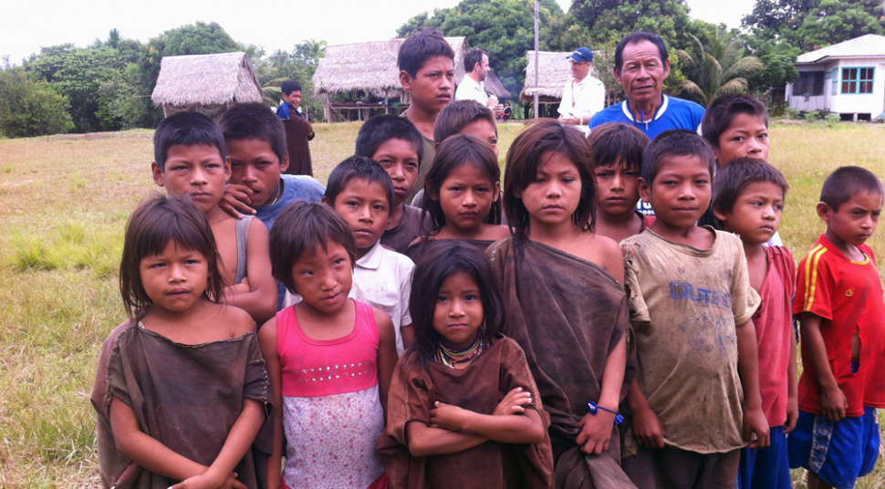 filming in peru village people daniel leuthold